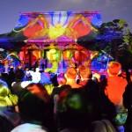 ベーコン展と光の曼荼羅、アートな休日