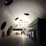 独特なデザインの広島の新拠点「新白島駅」