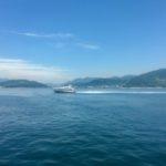 クルーズフェリーでのんびり広島から松山へ