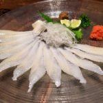 東京で穴子刺を食べるなら歌舞伎町へ