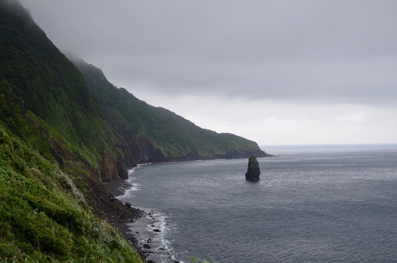 霧に包まれた伊豆大島で観光とキャンプ(伊豆大島旅行2日目)