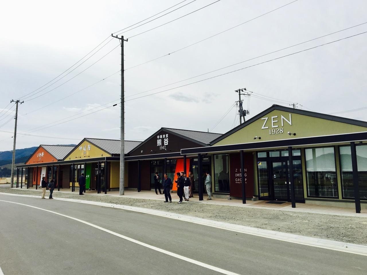 陸前高田市のかさ上げ市街地が盛り上がってまいりました